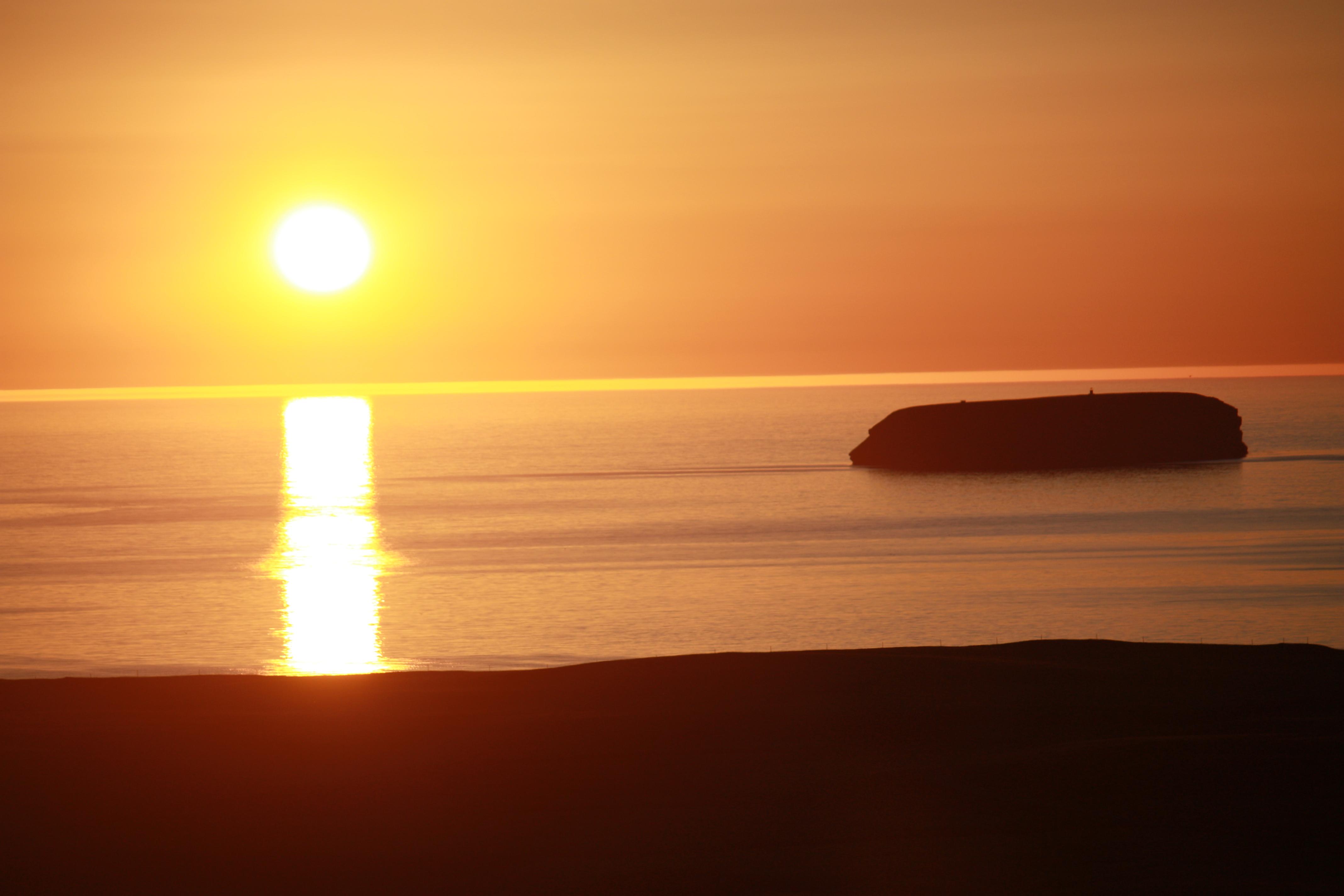 reiten-mitsommernachtssonne-island-see