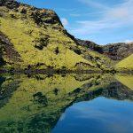 Vulkanisches Gebiet von Lakagigar in Islands Hochland im Südosten