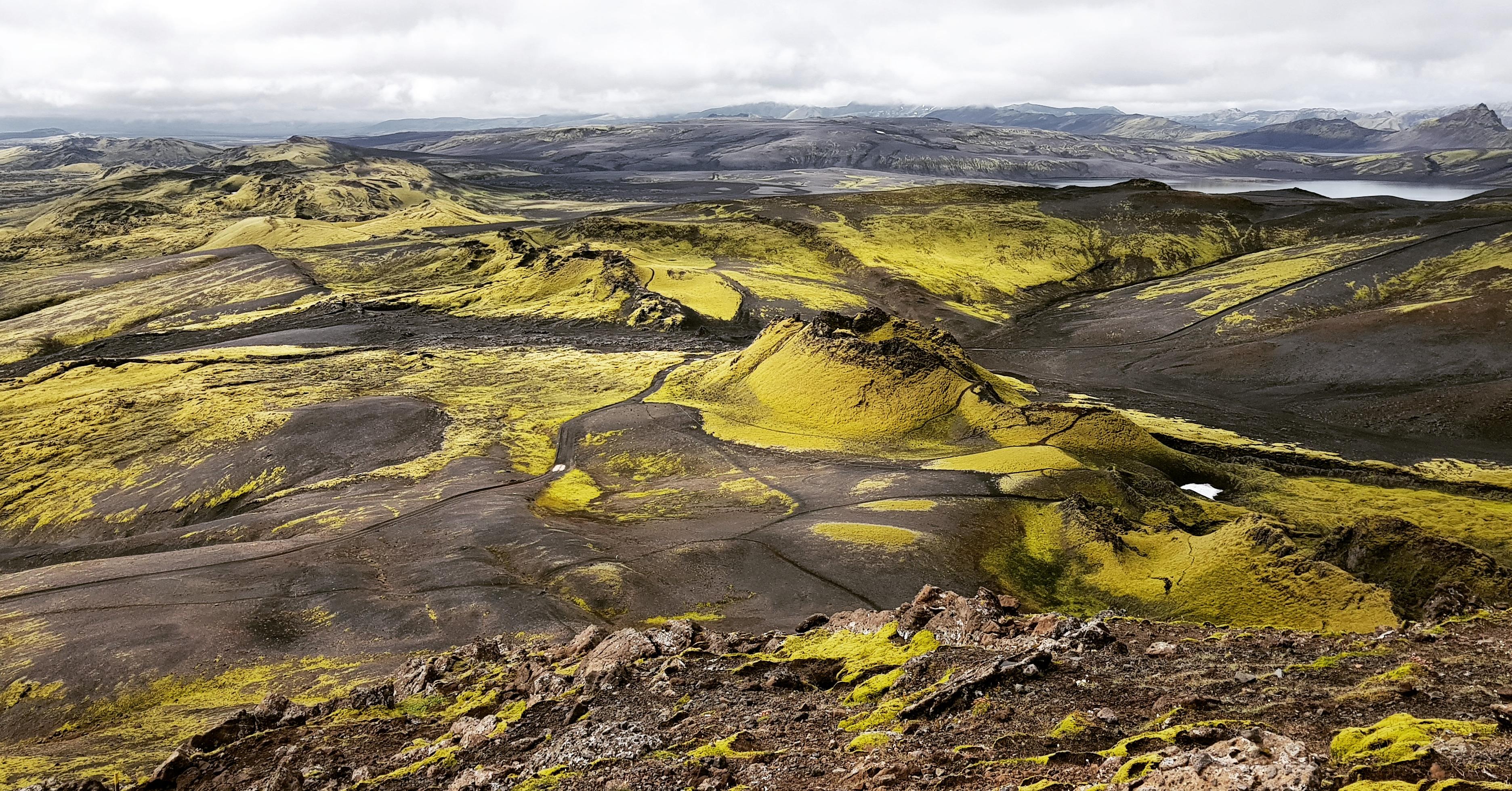 Laki Spalte in Suedost Island