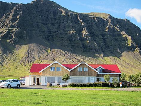 Gästehaus Gerði in Südostisland