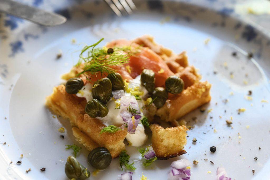 Kartoffel mit Lachs - ein Rezept aus Island